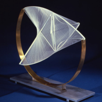 Naum Gabo Construction in Space- Suspended