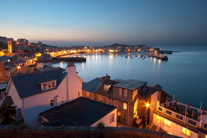 the bay St Ives